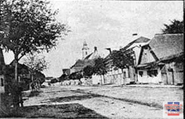 Soseaua principala in 1901