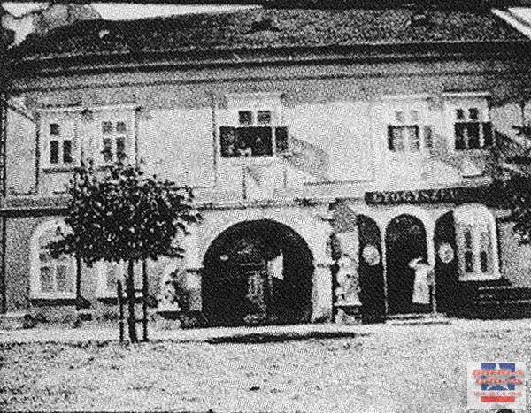 1899 - Centru, casa episcopala, farmacia