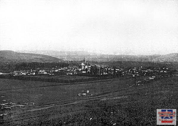 Vedere de pe deal 1903 gherla szamosujvar
