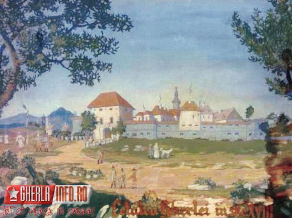 Gherla, cetate secolul al XVIII-lea