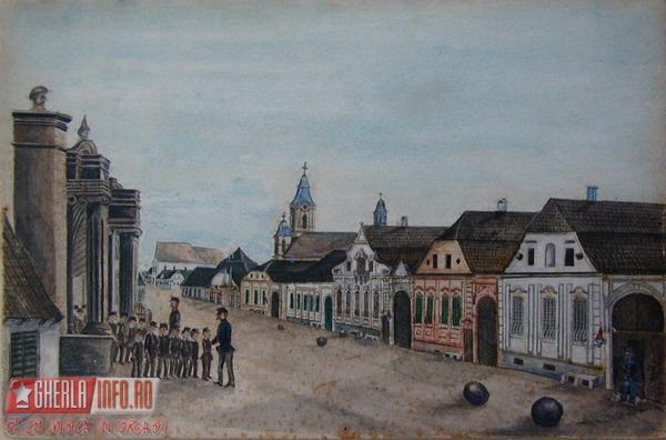 Pictura 1852-1878, executata de un pictor naiv - str. 30 decembrie 1918
