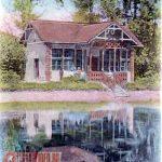 Parc, lac, 1903