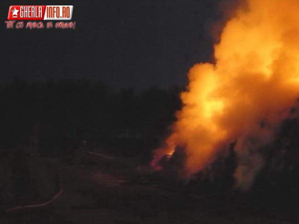 iclod incendiu pompieri fan cluj gherla dej