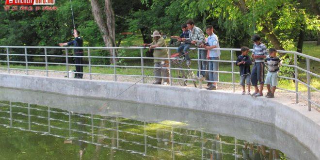 pescuit lac gherla pescari
