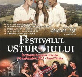 festivalul usturoiului 2013 pasul tihuta bistrita dracula