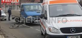 accident iclod biciclist bicicleta lovita masina cluj gherla dej