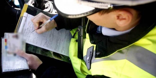 politie sofer acte masina