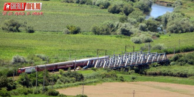 cfr tren cale ferata pod gherla cluj