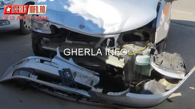 accident gherla dej bunesti skoda saab car crash cluj dn1c