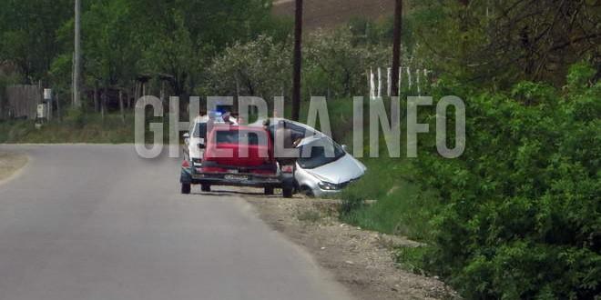 accident gherla fizesu gherlii volkswagen opel cra crash cluj