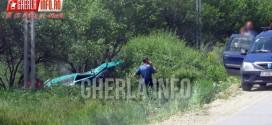 accident nicula gherla fizesu gherlii volkswagen rasturnat cluj