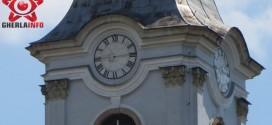 ceas orologiu biserica gherla catedrala armean catolic reparat cluj