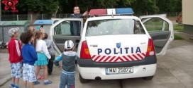 gradinita casuta fermecata gherla politie ziua copilului