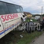 accident gherla autobuz autoutilitara