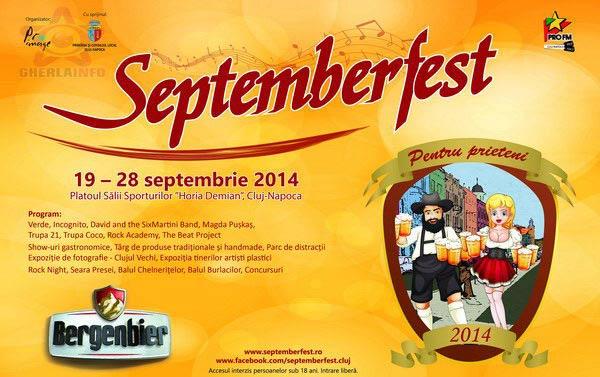 septemberfest cluj 2014
