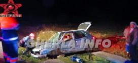 VIDEO: Accident pe centura Gherla: doua masini s-au izbit violent! Un sofer de 18 ani din Negresti Oas a ramas incarcerat