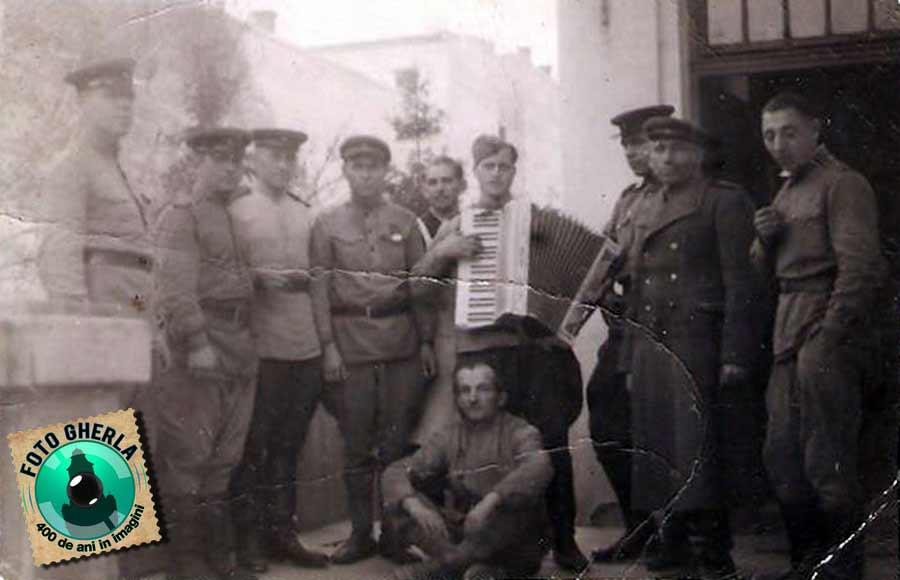gherla 1945 armata rusa cluj transilvania