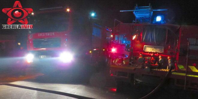 incendiu mintiu gherlii casa ambulanta pompieri dej gherla