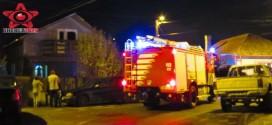 Alarma de incendiu la o casa pe strada Porumbeilor