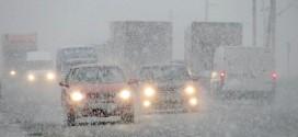 ninsoare trafic circulatie gherla livada