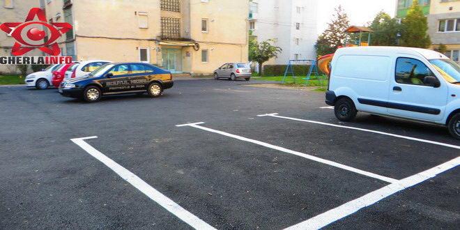 parcare asfalt strada victoriei george cosbuc gherla