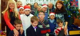 scoala speciala dej gherla copii daruri rotary club