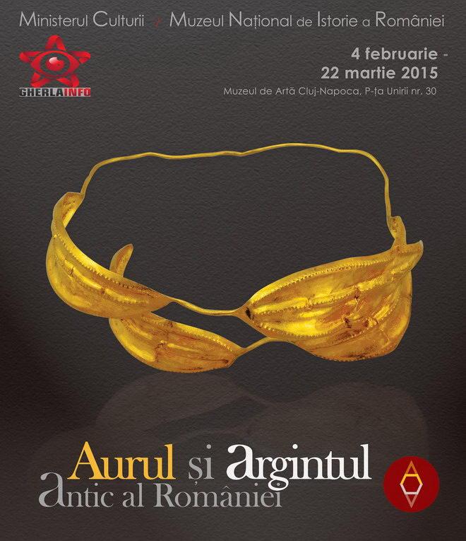 expozitie cluj mnit muzeu aur argint dacic