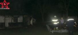 Incendiu la Mociu, la o casa. Un barbat a decedat asfixiat – VIDEO