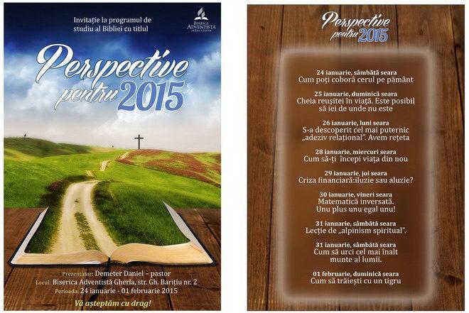 biserica adventista gherla prelegeri biblice