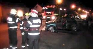 accident dej cluj pompieri
