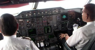 pilot avion cabina cockpit a310