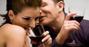 cuplu flirt barbat femeie