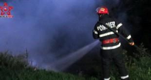 fizesu gherlii incendiu pompieri dej cluj gherla