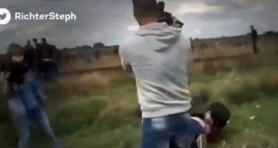 reporter ungariaria tv refugiat