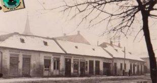 gherla iarna soseaua principala 1940