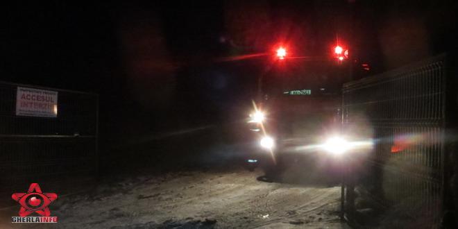 pompieri dej livada iarna cluj