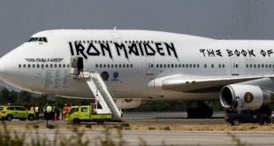 avion iron maiden chile