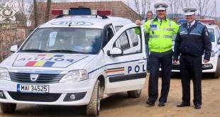 politie gherla politisti gherla masina