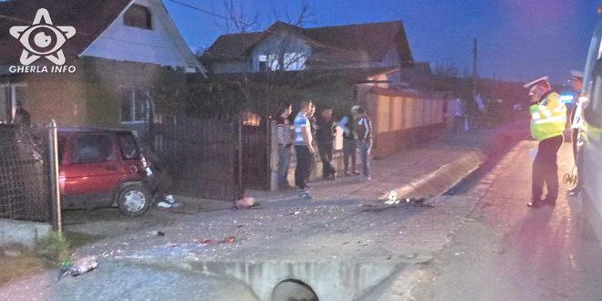 accident livada tico daewoo politie gherla cluj