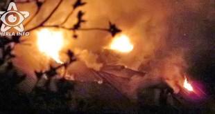 incendiu nicula acoperis casa cluj