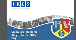 sondaj dej alegeri locale 2016 cluj