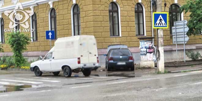 accident gherla volkswagen dacia