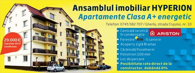 gherla apartament vanzare bloc hyperion dje cluj telefon pret
