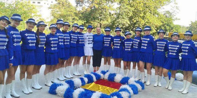 majorete queens dancinggherla campionat mondial cehia