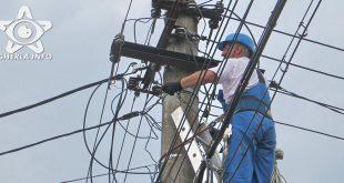 stalp electricitate curent
