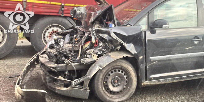 accident apahida sannicoara microbuz bustrans volkswagen