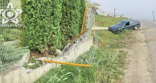 accident bmw gherla gard rupt