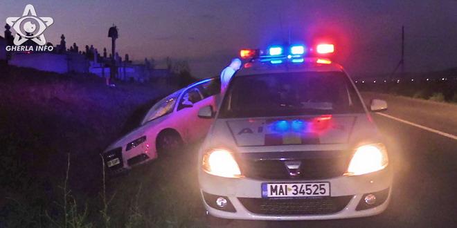accident audi politie gherla