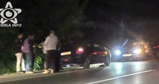 accident masina livada noapte