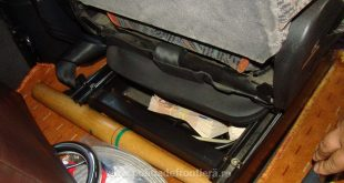 bani euro scaun autocar politie giurgiu frontiera vama